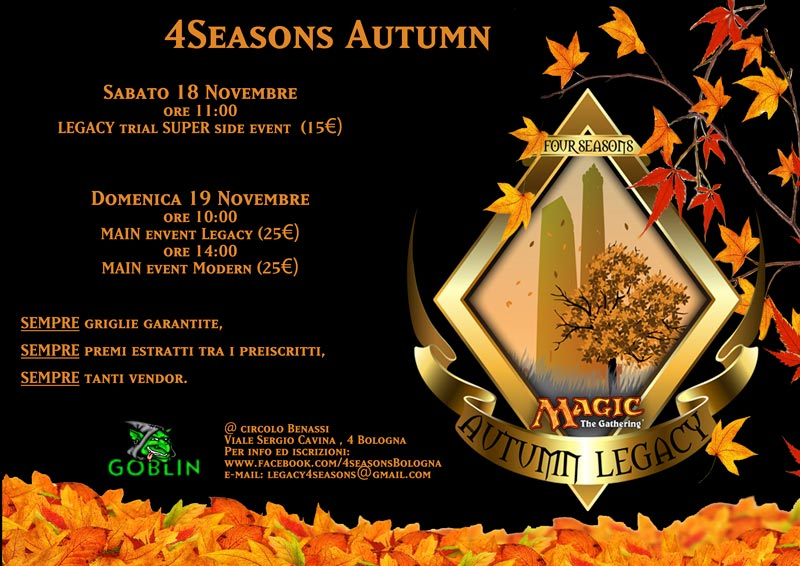 4Seasons Autumn 2017